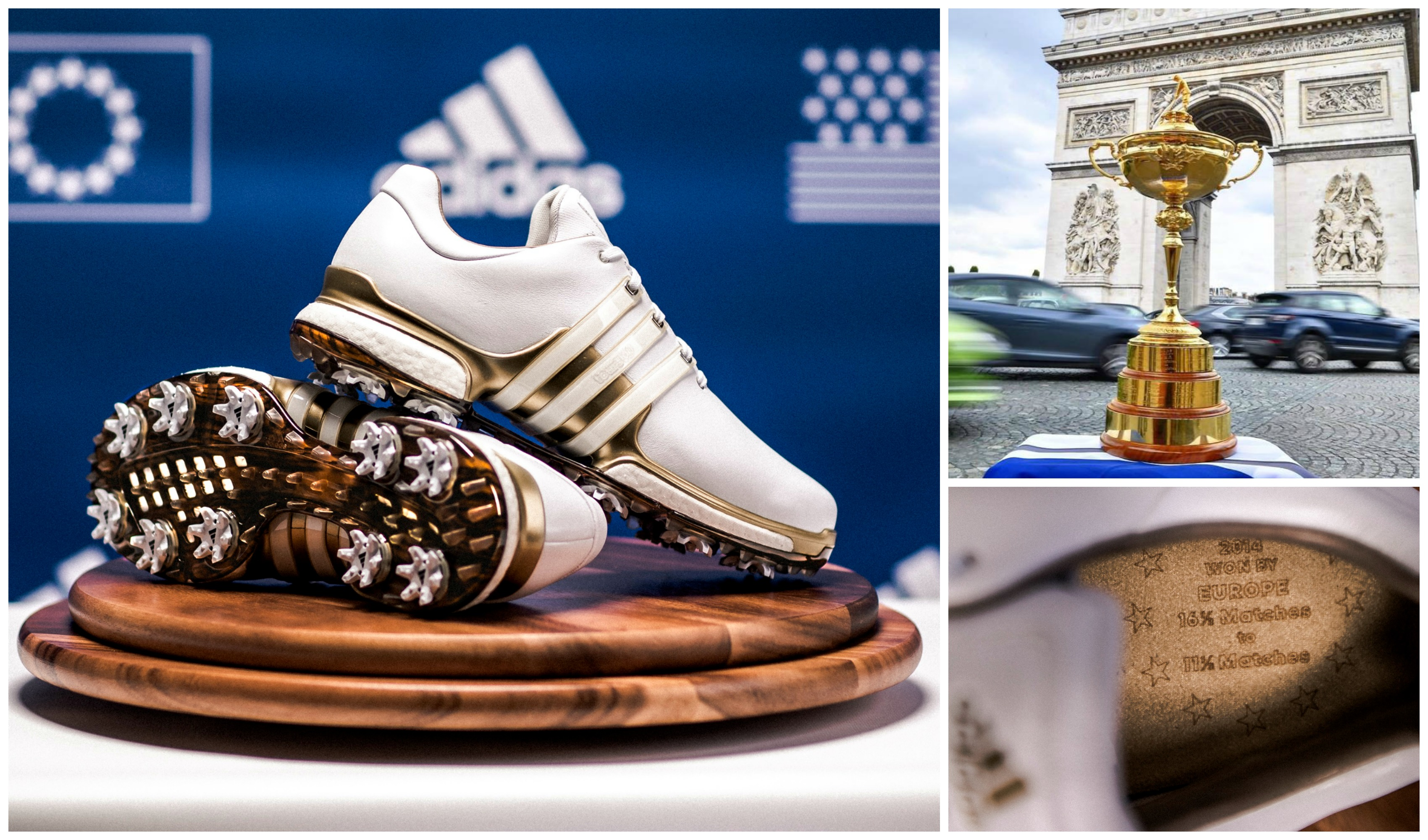 Adidas Tour360 i limited edition Ryder Cup-version -Michael Broström